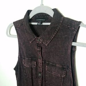 distressed nwt rock and republic tank top